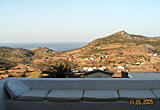 View from the roof terrace - Village house, Chora, Patmos, Greece